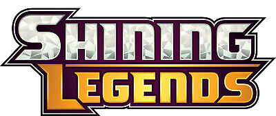 SHINING LEGENDS Online Booster Codes - Pokemon Online Codes for PTCGO TCGO