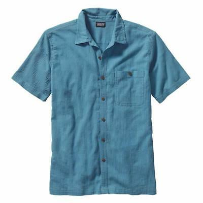 Patagonia Men's Short Sleeve A/C Summer Shirt, finely woven organic cotton