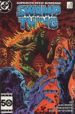 Swamp Thing (2nd Series) #42 1985 FN Stock Image