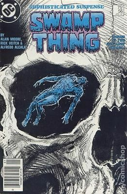 Swamp Thing (2nd Series) #56 1987 FN Stock Image