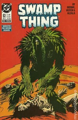 Swamp Thing (2nd Series) #63 1987 VF Stock Image