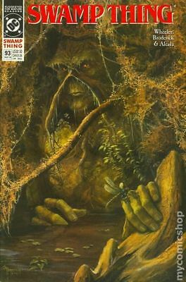 Swamp Thing (2nd Series) #93 1990 FN Stock Image