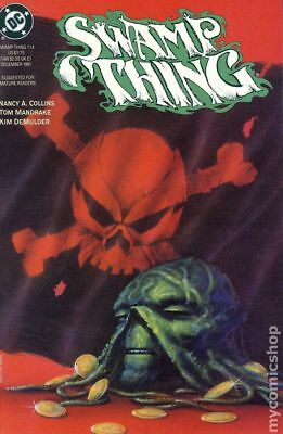 Swamp Thing (2nd Series) #114 1991 FN Stock Image