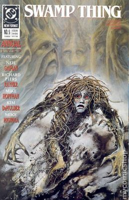 Swamp Thing (2nd Series) Annual #5 1989 FN Stock Image