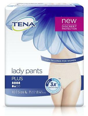 TENA LADY Pants Plus L 10St PZN: 12739897
