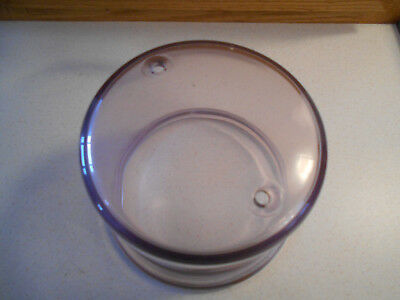Vintage Sun Purple Glass Electric Meter Cover-Excellent Condition-Wow Factor