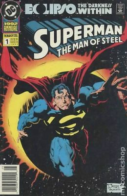 Superman The Man of Steel Annual #1 1992 FN Stock Image