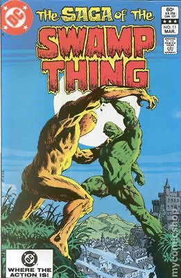 Swamp Thing (2nd Series) #11 1983 VG Stock Image Low Grade