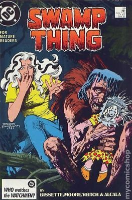 Swamp Thing (2nd Series) #59 1987 FN Stock Image