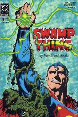 Swamp Thing (2nd Series) #79 1988 FN Stock Image