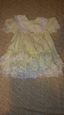 Vintage Baby Childrens Girl Toddler Dress Lilo 4T, LILO CHILDRENS DRESSES CALI.
