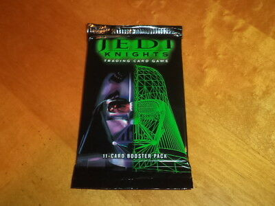 2000 Decipher Star Wars Jedi Knights Trading Card Game 11-card Booster Pack New!