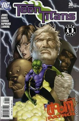 Teen Titans (3rd Series) #36 2006 VG Stock Image Low Grade