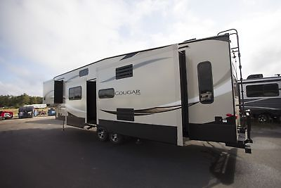 Lowest Pricing Ever 2018 Cougar 368Mbi Fifth Wheel Mid Bunk Island Camper Rv