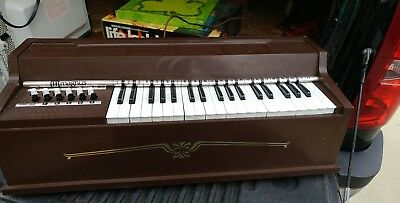 rare vintage Magnus electric table top piano/organ - model 660P