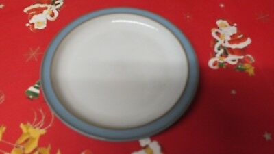 """DENBY COLONIAL BLUE 10"""" 26cm DINNER PLATES x 2 more available. VGC"""