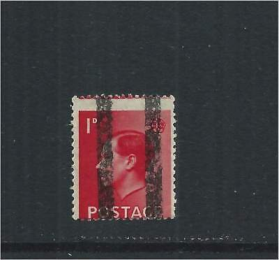 GB 1936 KEVIII 1d with Post Office Training School Bars MNH