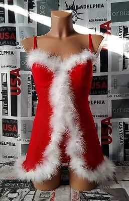 Babydoll sexy donna intimo notte babydoll natale lingerie natalizia
