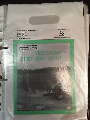 Feeder Rare Collection of over 65 Promo Flyers, Posters, Stickers, Bags, Cards