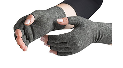 Pair of Compression Gloves Arthritis Pain Relief Cold Swollen Hand Circulation