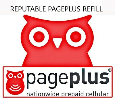 Reputable PagePlus $69.95 Month - Refill Direct to Phone Fully Unlimited 4G LTE