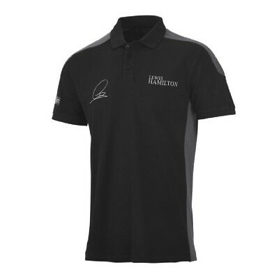 POLO SHIRT Mercedes AMG Petronas F1 Team Formula One 1 NEW! Lewis Hamilton
