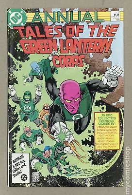 Tales of the Green Lantern Corps Annual #2 1986 VF 8.0