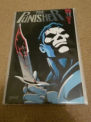 Punisher 75 nm classic embossed cover super hot