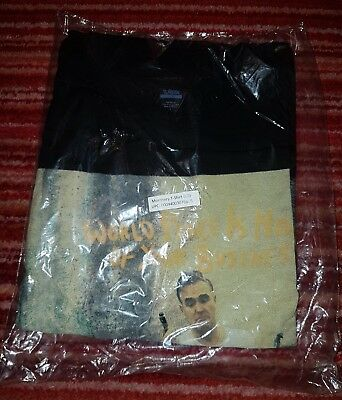 Morrissey World Peace Very Rare US Promo T-shirt Official New Sealed Size L
