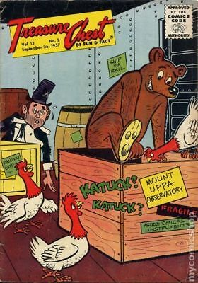Treasure Chest Vol. 13 #2 1957 GD/VG 3.0 Stock Image Low Grade