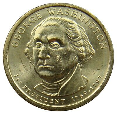 (M6) - United State USA - 1 Dollar  2007 P - George Washington - UNC - KM# 401