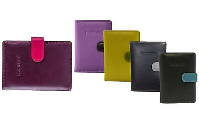 Visconti 75 Multicolor Passport Wallet - with RFID Identity Theft Protection