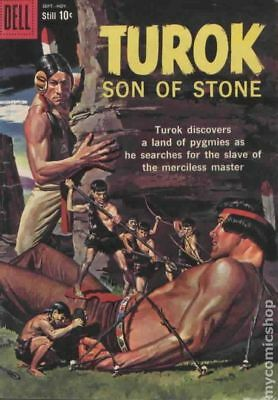 Turok Son of Stone (Dell/Gold Key) #17 1959 GD/VG 3.0 Stock Image Low Grade