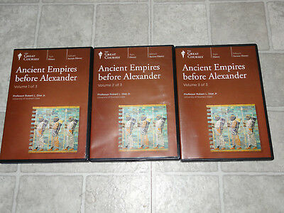 The Great Courses -Ancient Empires before Alexander 18 CD Set