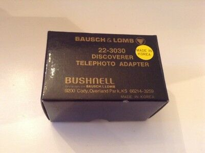 Bausch & Lomb No. 22-3030 Discoverer Telephoto Adapter - New In Box