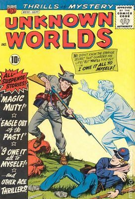 Unknown Worlds #10 1961 GD/VG 3.0 Stock Image Low Grade