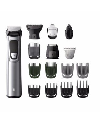 New Philips Philips Multigroom Series 7000 16 In 1 Face, Hair And Body Mg7730/1