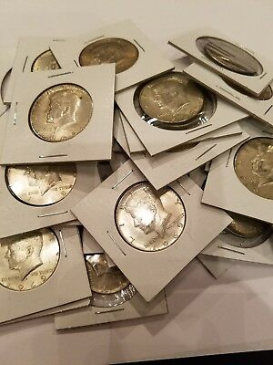 1965 - 1969 Kennedy Half Dollars  40% Silver Random dates & mint marks (qty 32)