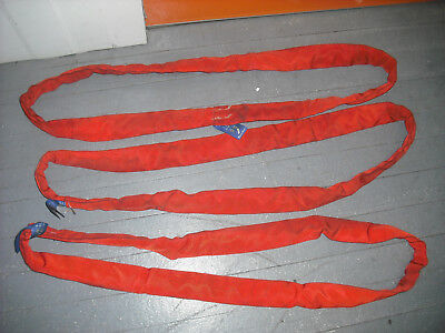 SpanSet Lifting Slings (3)Three Rated 4000kg Australian Made