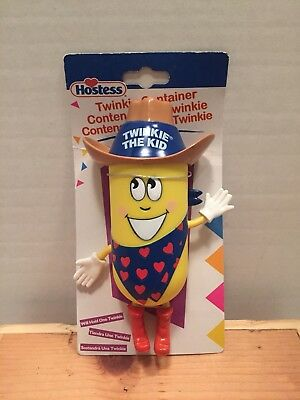 NEW 7 Inch Hostess Twinkie the Kid Container Poseable Arms Legs Cute Collectible