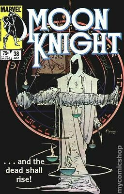 Moon Knight (1st Series) #38 1984 GD/VG 3.0 Stock Image Low Grade