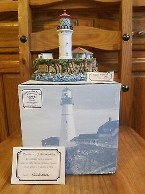 1999 Special Event Exclusive KILAUEA POINT Hawaii Harbour Lights Lighthouse COA