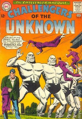Challengers of the Unknown (DC 1st Series) #41 1965 GD/VG 3.0 Stock Image