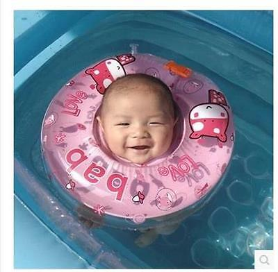 New Safety Baby Neck Float Infant Ring Swimming Pool Toy Circle Ring GRO