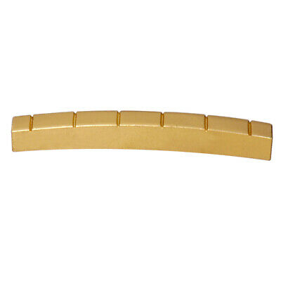 43mm Brass 6 String Nut Replacement for ST Strat Telecaster Electric Guitar