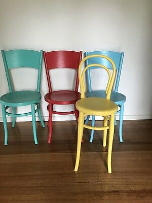 Bentwood Chairs Antique Shabby Chic