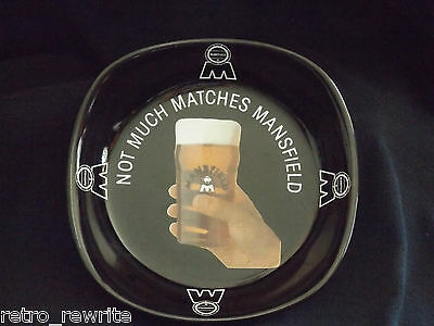 Not Much Matches Mansfield  Beer Change Tray / Ashtray   Brewery mancave barware