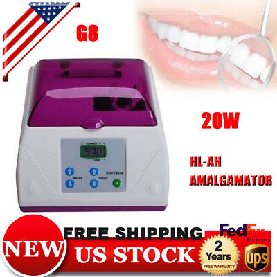 Amalgamator Dental Lab Digital Capsule Mixer HL-AH Blender Mixer Amalgam CE 20W
