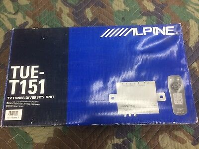 Alpine Tue-T151 Tv Tuner/diversity Unit