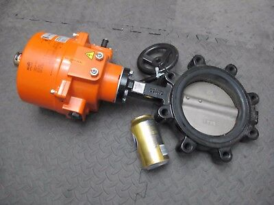 Brand New Belimo F6150HD + SY3-110 Butterfly Valve Combo